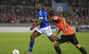 Ernest Seka et le Racing club de Strasbourg connaissent en détails le calendrier de Ligue 2 pour la saison 2016-2017. (Archives)