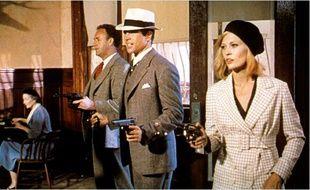 Warren Beatty et Faye Dunaway dans Bonnie and Clyde