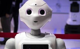 Le robot humanoïde Pepper