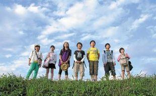 Les enfants (heureux?) de I Wish, le dernier film du Japonais Hirokazu Kore-Eda, réalisateur de Nobody Knows.