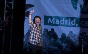 Pablo Iglesias, leader de Podemos, le 24 mai 2015.