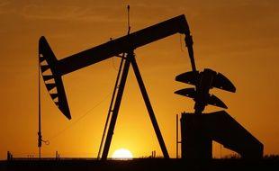 Une exploitation de pétrole dans l'Oklahoma, aux Etats-Unis (illustration).