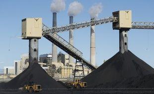 Une centrale à charbon dans l'Utah.