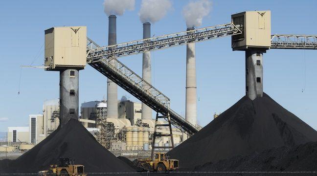 Une centrale à charbon dans l'Utah. – GEORGE FREY / GETTY IMAGES NORTH AMERICA / AFP