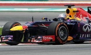 L'Allemand Sebastian Vettel (Red Bull), triple champion du monde en titre, a signé le meilleur temps de la 3e et dernière séance d'essais libres du Grand Prix de Malaisie de Formule 1, samedi sur le circuit de Sepang, près de Kuala Lumpur.