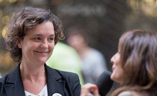 Camille Choplin, le soir de la victoire de la liste écolo Bordeaux Respire aux municipales, le 28 juin 2020.