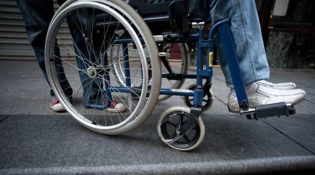 Un homme en fauteuil roulant . (Illustration) – V. WARTNER / 20 MINUTES