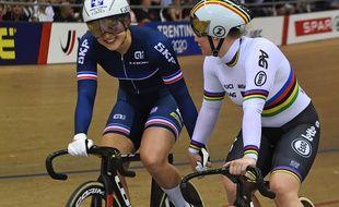Mathilde Gros, à gauche, a décroché l'or