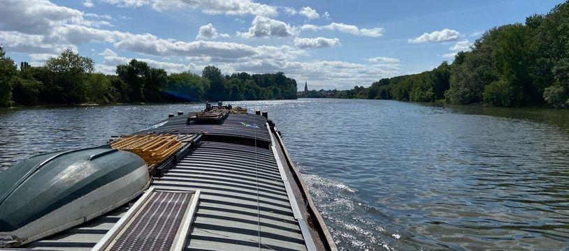 Un test a été réalisé le 8 mai dans l'objectif de donner un élan au frêt fluvial.