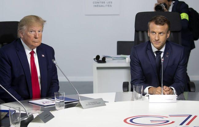 G7 à Biarritz: France et Etats-Unis «approchent d'un accord» sur la taxe Gafa, déclare Trump