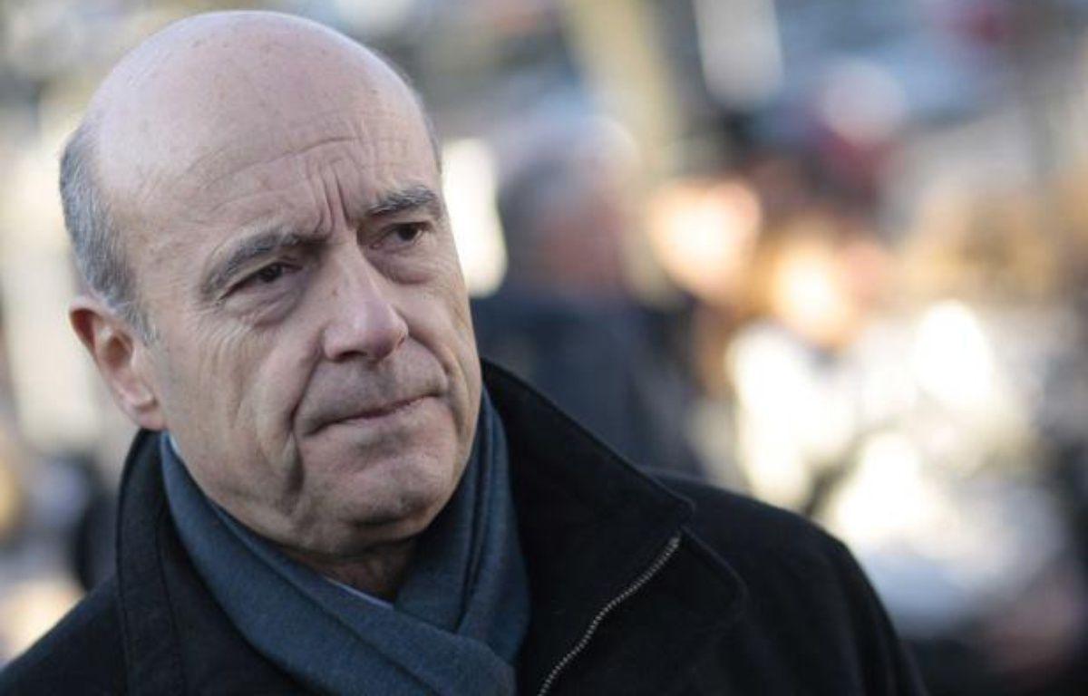 Alain Juppé à Marcq-en-Baroeul le 12 décembre 2012. – BAZIZ CHIBANE/SIPA