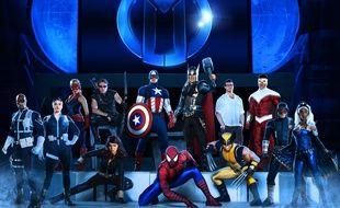 Les Avengers au complet pour le show «Marvel Universe Live!»