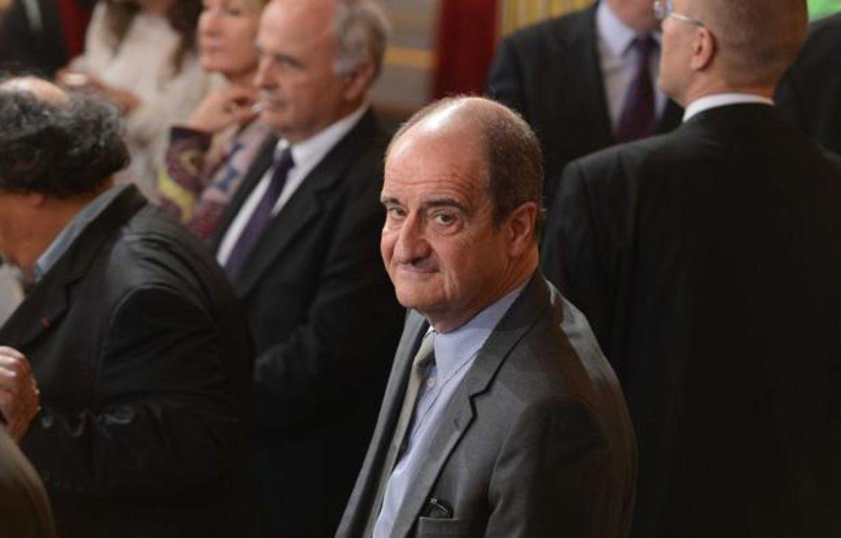 Pierre Lescure lors de l'investiture de François Hollande, à Paris, le 15 mai 2012. – ABD-RABBO-POOL/SIPA