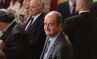 Pierre Lescure lors de l'investiture de François Hollande, à Paris, le 15 mai 2012.