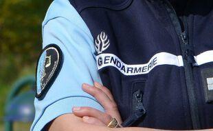 Un gendarme (illustration)