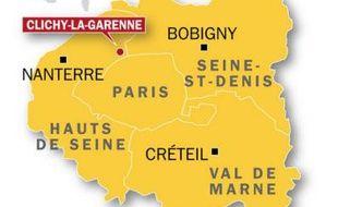 Un homme a été poignardé à mort alors qu'il jouait au foot avec son fils à Clichy-la-Garenne (Hauts-de-Seine) le 25 avril 2010.