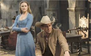 Evan Rachel Wood et Jimmi Simpson dans «Westworld».