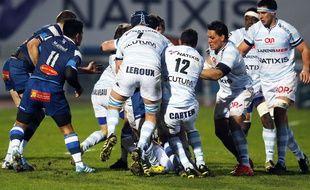 Le Racing Métro et Castres se sont affrontés le 27 février 2016.