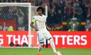 Luiz Gustavo lors de la finale de la Ligue Europa, en mai dernier (car oui, l'OM a été finaliste de cette compétition...)
