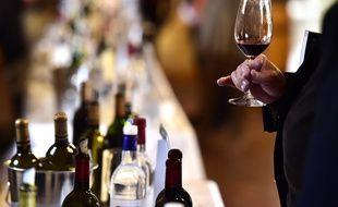 Séance de dégustation de vins (image d'illustration).