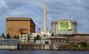 """Des militants de Greenpeace ont déjoué lundi la sécurité d'une centrale nucléaire en Argentine et déployé sur le toit une banderole disant """"Le danger nucléaire, ça suffit"""", a-t-on appris auprès de l'organisation écologiste."""