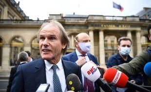 Le président d'Amiens Bernard Joannin avant l'audience devant le Conseil d'Etat, le 4 juin 2020.