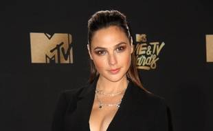 L'actrice Gal Gadot aux MTV Movie & TV Awards 2017