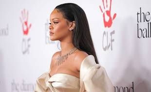 La chanteuse Rihanna  à Los Angeles en décembre 2015.