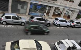 Illustration du stationnement en ville