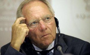 Le ministre allemand des Finances Wolfgang Schäuble s'est déclaré convaincu, vendredi à Stockholm, que la Banque centrale européenne ne s'était pas lancée dans le financement de la dette des Etats en annonçant la veille un nouveau plan de rachat de dette des Etats.