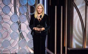La chanteuse Barbra Streisand aux Golden Globes 2018