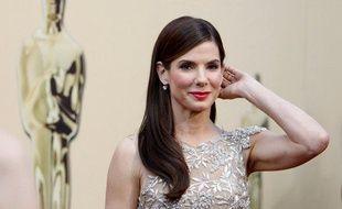 Sandra Bullock à son arrivée à la cérémonie des Oscars, le 7 mars 2010.