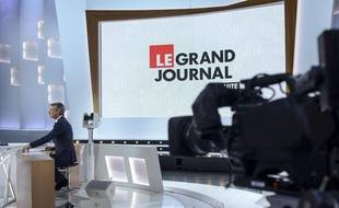 Le plateau du «Grand Journal».