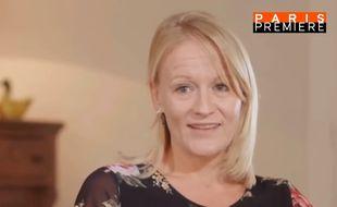 Julie Bocquet, la fille cachée de Claude François, témoigne dans «Claude François, le dernier pharaon» le 10 février 2018 sur Paris Première.