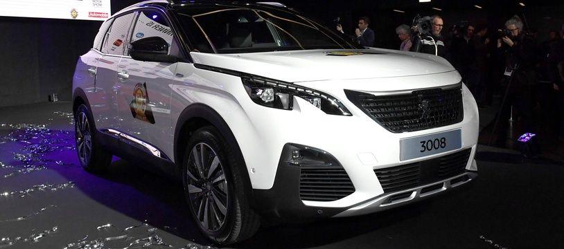 Les voleurs ciblaient principalement les 3008 de Peugeot (illustration)