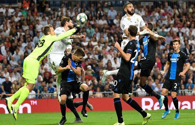 Ligue des champions: Petit miracle, le Real Madrid arrache le nul face à Bruges après avoir été mené 2-0