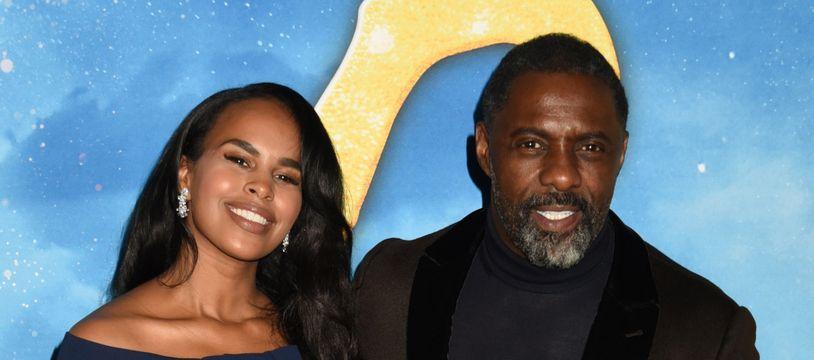 Les époux Sabrina Dhowre et Idris Elba