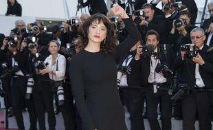 L'actrice Asia Argento au Festival de Cannes le 19 mai 2018.