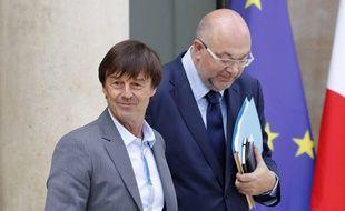 Nicolas Hulot est ministre de la Transition écologique est solidaire depuis mai 2017, et Stéphane Travert ministre de l'Agriculture depuis juin 2017.