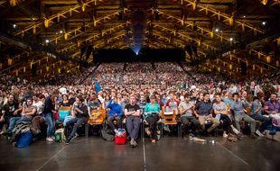 5.000 spectateurs seront une nouvelle fois réunis samedi à la Halle Tony-Garnier à l'occasion de la Nuit Lumière.