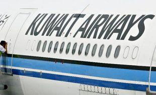 Un avion de la compagnie Kuwait Airways (Illustration)
