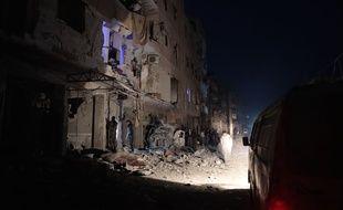 Une attaque au gaz à fait au moins 58 morts en Syrie.
