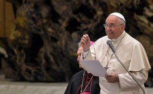 Le pape François, le 14 novembre 2014 au Vatican