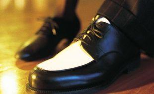 Une chaussure (illustration).