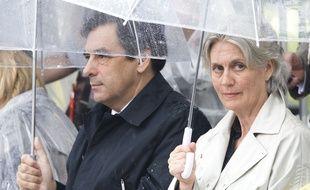 Penelope et François Fillon, le 3 juillet 2008 au Québec.