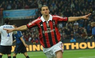 Zlatan, époque Milan AC