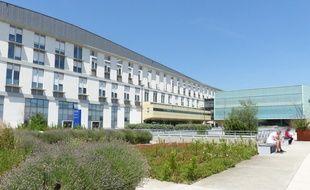A l'hôpital de la Croix-Rousse à Lyon.