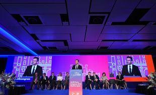 Le congrès de l'Alliance des libéraux et démocrates pour l'Europe, à Madrid le 9 novembre 2018.