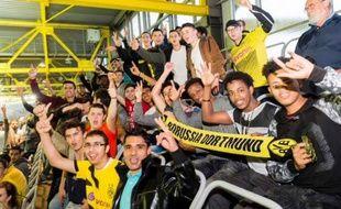 Les réfugiés invités à venir voir un match à Dortmund.