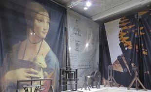 """L'exposition """"Da Vinci les inventions d'un génie"""" sera présentée du 13 septembre au 13 janvier à Lyon."""